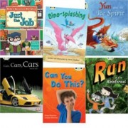 Learn to Read at Home with Bug Club: Turquoise Pack (Pack of 6 Reading Books with 4 Fiction and 2 Non-Fiction) by Steve Smallman
