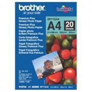 Brother BP-71GA4 Premium Glossy Paper A4, 20 Sheets, Size:210 x 297mm, Weight:260 gsm