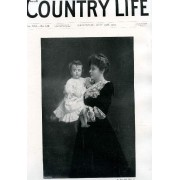 Country Life Illustrated, Vol. Xxi, N° 542, May 1907 (Contents: Our Portrait Illustration: The Duchess Of Norfolk And Her Daughter. Purchase Or Tenancy ? Country Notes. The Country At ...