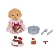 Japan Doll House - Sylvanian Families shop cute pastry chef set *AF27*