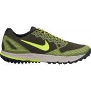 Nike Air Zoom Wildhorse 3 Laufschuh Men Sequoia/Volt-Bright Cactus 45,5 Neutral Laufschuhe