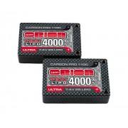 Team Orion Carbon Pro Ultra7.4 V 4000110 C18.5mm Saddle Tubes Battery
