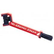 Finish Line Spazzola doppia The Grunge Brush rosso Set manutenzione
