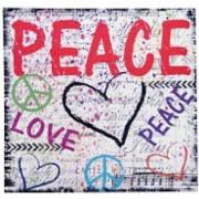 CUADRO PEACE CORAZON