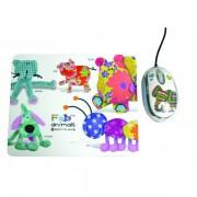 Mouse, Saitek FAB4490, Mini, USB