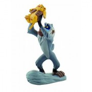 Bullyland Rafiki with Baby Simba Action Figure