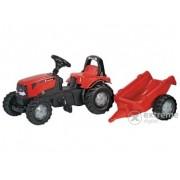Tractor cu pedale Rolly Kid Case CVX 1170 cu remorcă