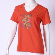 Ručne maľované tričko (48) Alfatex