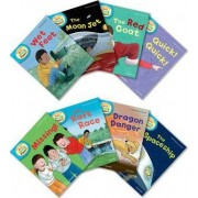Oxford Reading Tree Read With Biff, Chip, and Kipper: Level 4: Pack of 8 by Roderick Hunt