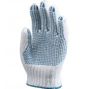 Europrotect 12 Paires De Gants De Protection Coton/poly A Picots