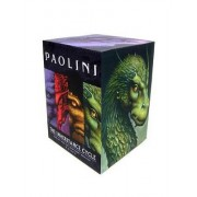 Inheritance Cycle 4-Book Trade Paperback Boxed Set (Eragon, Eldest, Brisingr, in by Christopher Paolini