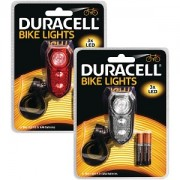 Duracell 3 LED Front & Rear Bicycle Light Set (BUN0045A)