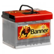 Banner Power Bull Professional 12V 63Ah 600A autó akkumulátor jobb+