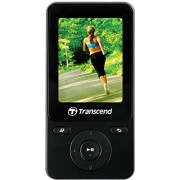 Transcend MP710 Digital Music Player, 8GB (Black)