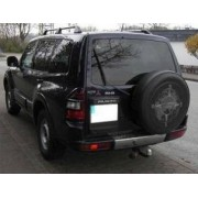 ATTELAGE MITSUBISHI PAJERO 4x4 chassis court (V60) - RDSO demontable sans outil - attache remorque BRINK-THULE