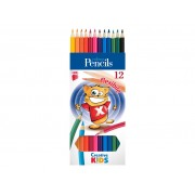 Creioane Color Flexibile ICO Creative Kids 12/Set
