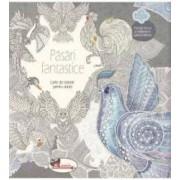 Pasari fantastice - Carte de colorat pentru adulti