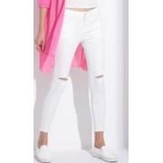 Feminino Calça Lápis Pantalon GAREMAY BRANCA