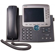 Cisco Systems Unified IP Phone 7975G Teléfono (Negro, Plata, base, G.711a, G.722, G.729a, iLBC, SCCP, SIP, LCD, 267 x 152 x 203 mm)