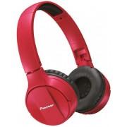 Casti Stereo Pioneer SE-MJ553BT-R, Bluetooth (Rosu)