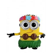 Funko Pop Movies Despicable Me 2 Hula Minion Action Figure, Multi Color