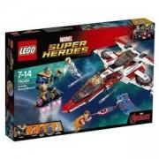 Конструктор ЛЕГО СУПЕР ХИРОУС - Космическа мисия със самолета на Отмъстителите, LEGO Super Heroes, 76049