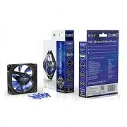 Noiseblocker NB-BlackSilent Fan X-2 80mm Ultra Silent Fan 1800rpm 3 pin 18 dBA