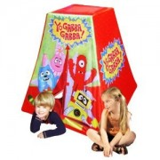 Toy / Game Yo Gabba Gabba Play Tent With Shock Corded Pvc Poles For Easy Set Up And Storage (Ages 3+)
