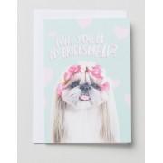 Jolly Awesome Свадебная открытка Jolly Awesome Bridesmaid - Мульти