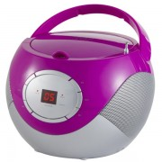 Microsistem audio Adler AD1125VIO, CD Player cu MP3, Violet