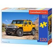 Castorland B-12848-1 - pezzi Hummer H2.120, Puzzle Classic