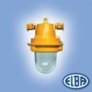 Robbanásbiztos lámpa AI 02C 105W II 2G Exde II B T4 izzóval IP54 Elba