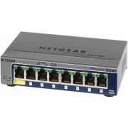 Switch NetGear GS108T-200GES 8 porturi x 10/100/1000 Mb/s
