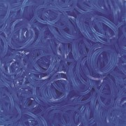 Elastice Rainbow Loom - Jelly - Albastru-ocean