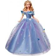 Princesas Disney - Muñeca Cenicienta baile de princesas (Mattel CGT56), color azul