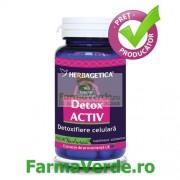 DETOX ACTIV 60 capsule Herbagetica