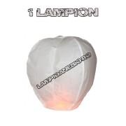 1 Lampion Zburator Alb