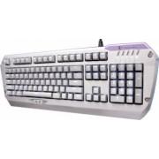 Tastatura Gaming Tesoro Colada G3NL Silve LED Aluminium Edition Blue