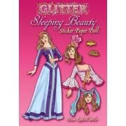 Glitter Sleeping Beauty Sticker Paper Doll by Eileen Miller