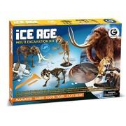 GEOWORLD-MULTI EXCAVATION KIT ICE AGE