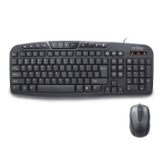Kit tastatura si mouse nJoy CM120WR Black