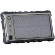 REVOLT Batterie de secours solaire 8000 mAh ''PB-80.s'' ultra-résistante