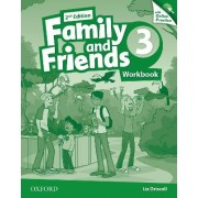Family and Friends: Workbook & Online Skills Practice Pack: Level 3