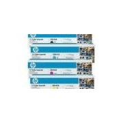 HP Q7581A - презареждане цветни тонер касети