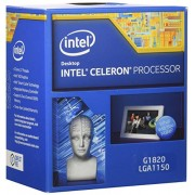 Intel G1820 Processore Box Celeron Dual-Core, Argento