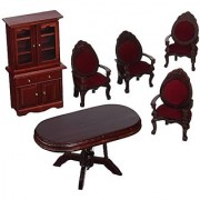 Melissa & Doug Deluxe Doll - House Dining Room Furniture