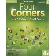 Four Corners Level 4 Full Contact B with Self-study CD-ROM by Jack C. Richards