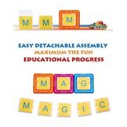 Magmagic Educational Intelligence Kit Alphabet Set, 48 Packs ( 32 Pcs Alphabet Cards & 16 Pcs Card Cases )