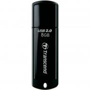 USB 2.0 8GB TRANSCEND JetFlash 350 Black (TS8GJF350)