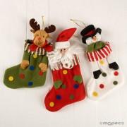 Calcetín topos Navidad